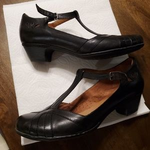 Rockport Cobbhill Angelina, Sz 10 BLACK
